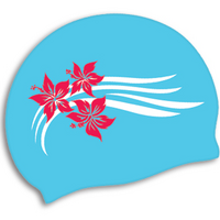 TYR FLOWERS SILICONE CAP